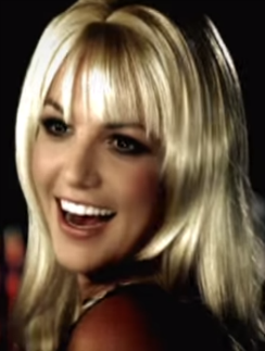 Бритни Спирс восемь лет назад
