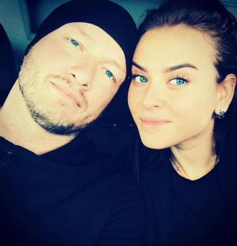 Никита Панфилов и его супруга Ксения