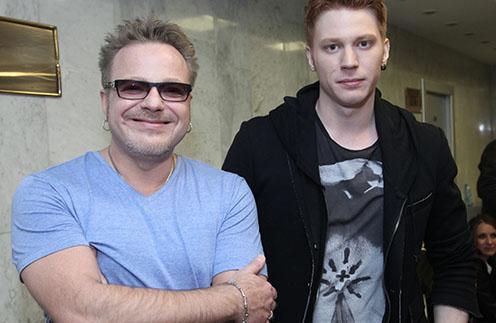 Никита Пресняков с отцом Владимиром Пресняковым