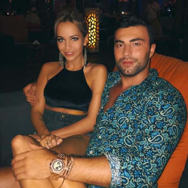 Лиза Триандафилиди и Алексей Чайчиц