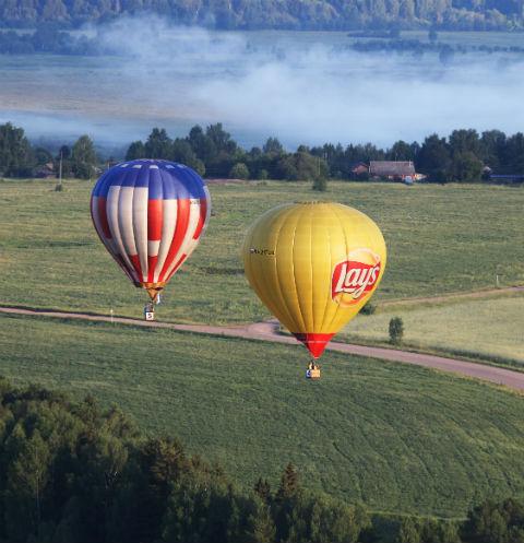 В Кунгуре прошел фестиваль воздушных шаров