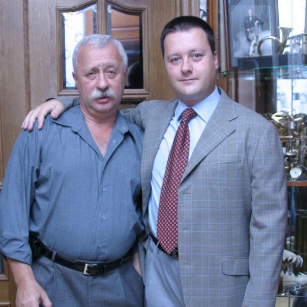 Леонид Якубович с сыном