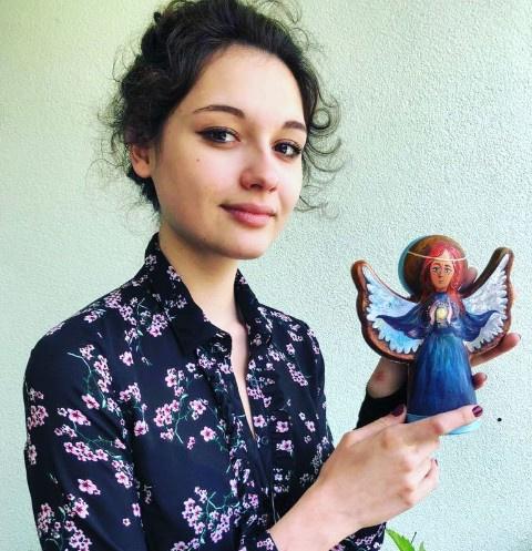 Дочь Егора Кончаловского Мария