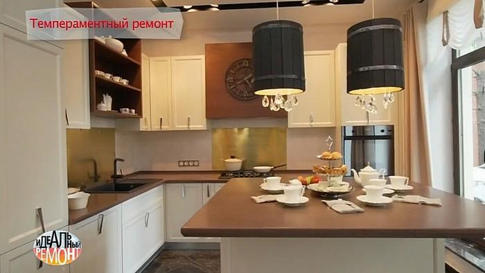 Светильники на кухне - изобретение дизайнера проекта