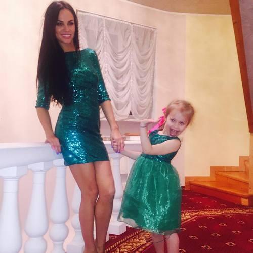 Ирина Маирко с Миланой Гогунской