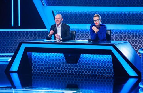 Ксения Собчак в жюри шоу «Сыграй в ящик»