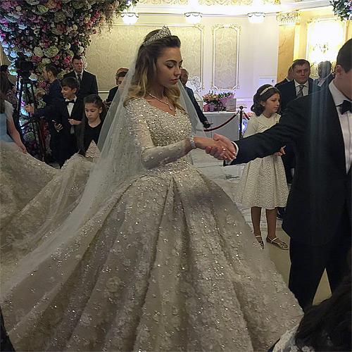 Невесту сына Михаила Гуцериева зовут Хадижа