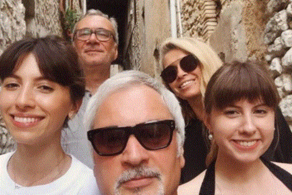 Валерий Меладзе с дочерьми, Константин Меладзе с Верой Брежневой