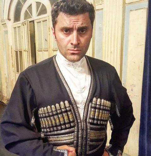 Гурам Баблишвили, бывший муж Анфисы Чеховой