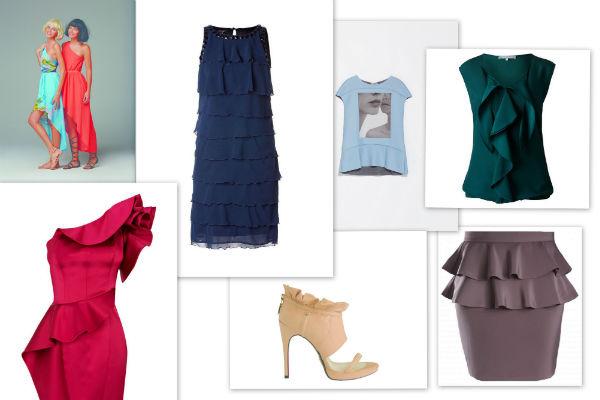 Модели - Kira Plastinina. Платье – Apart. Футболка- Zara. Блуза –One Touch. Платье – Кaren Miller. Туфли Cesare Paciotti