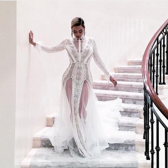 Бейонсе в платье Инбаль Дрор на вручении премии «Грэмми» в 2016 году