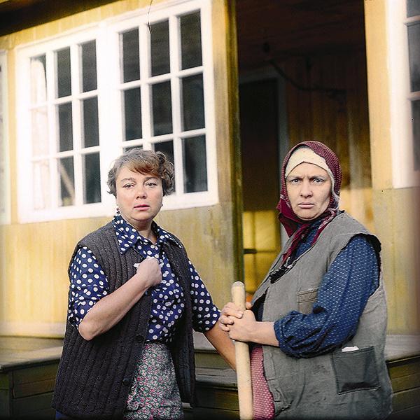 С актрисой Натальей Теняковой