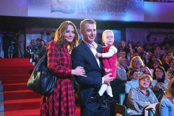 Игорь Петренко и Кристина Бродская на фестивале в Крыму