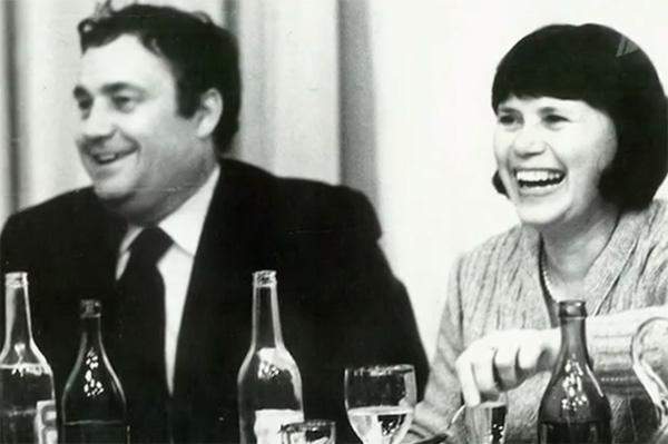 Эльдар Рязанов с первой женой Зоей Фоминой