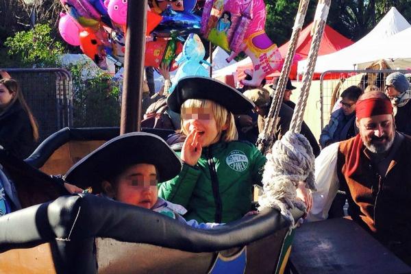 Пираты — любимые герои Вани