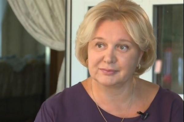 Инна, жена Сергея Гармаша