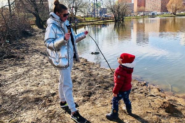 Елизавета Шевыркова много времени проводит с сыном