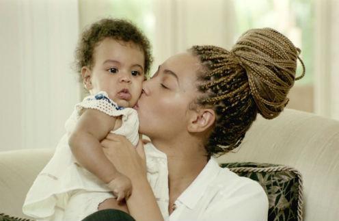 Бейонсе с дочкой Блю Айви