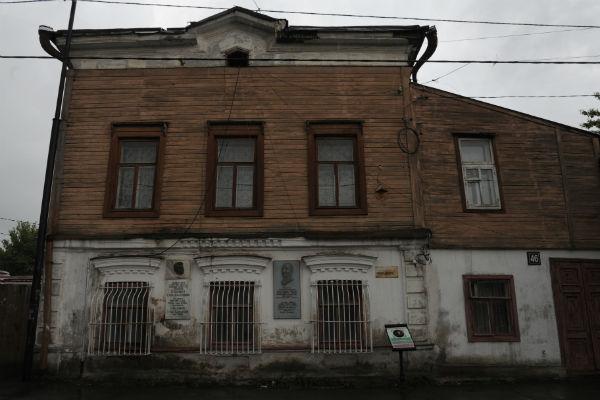 В этом доме в Казани жила семья композитора