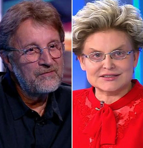 Леонид Ярмольник и Елена Малышева