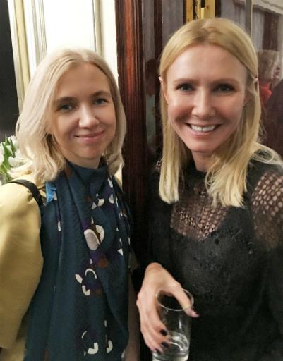 Анна Бурашова и Лина Бойко