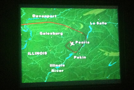 """""""Фото нашего полета. Я был на пути в Нью-Йорк"""", - поделился эмоциями иллюзионист"""