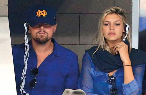 Лео перестал скрывать отношения с манекенщицей Келли Рорбах. Пара часто попадает в объектив папарацци