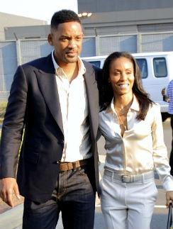 Уилл Смит с супругой Пикетт Смит
