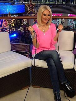 Лера Кудрявцева на «Партийной зоне»