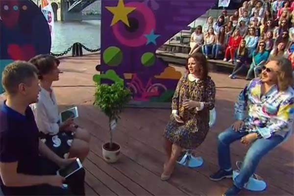 Игорь Николаев и Юля Проскурякова стали гостями программы «Парк»