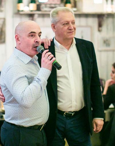 Михаил Грушевский и Евгений Болдин