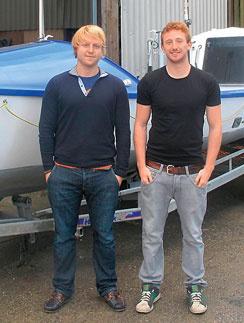 Начинающие мореходы Том Сауэр и Том Фансет