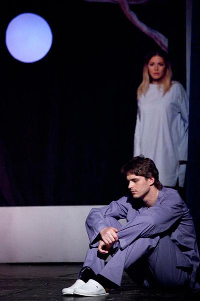 Василий Степанов в спектакле «Вероника решает умереть»