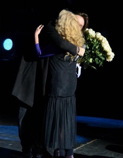 Александр Панайотов и Лариса Долина