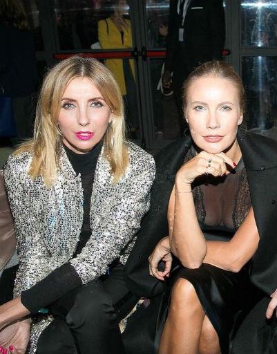 Светлана Бондарчук и Елена Летучая