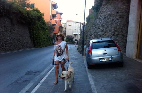 Жанна с Улиусом. Пешая прогулка по Порто Эрколе