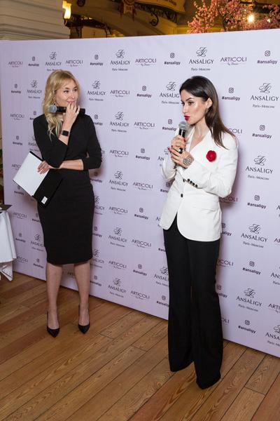 Тина Канделаки стала лицом косметической линии по уходу за кожей