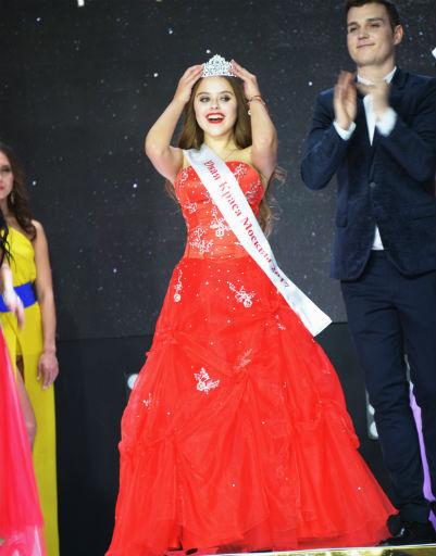 14-летняя Лада Мишина получила титул «Юная Краса Москвы»