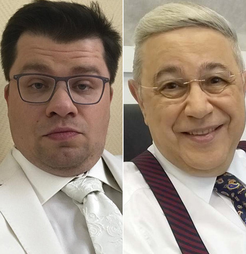 Гарик Харламов и Евгений Петросян