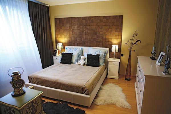 ...и в итоге комната   получилась очень уютной  и спокойной
