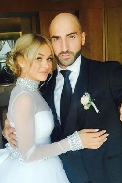 В августе Анна Хилькевич вышла замуж за бизнесмена Артура Волкова