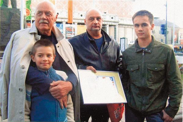 Станислав Говорухин с семьей