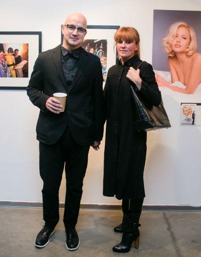 Егор Дружинин с супругой
