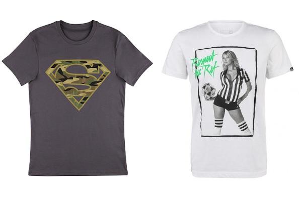 Слева: футболка ТВОЕ. Справа: футболка adidas Perfomance