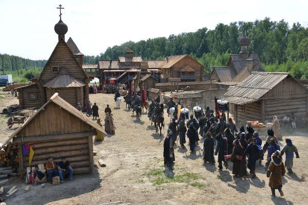 Съемки проходили в Подмосковье и Крыму