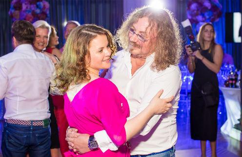 Игорь Николаев с супругой Юлией Проскуряковой