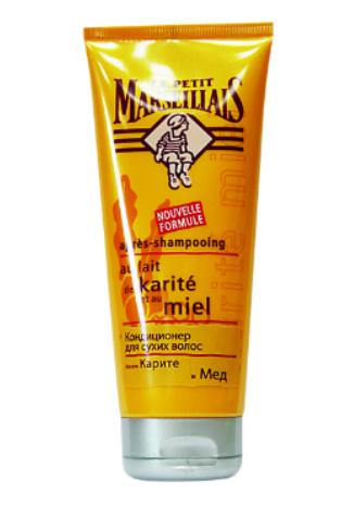 """Le Petit Marseillais Кондиционер для сухих волос """"Масло карите и Мед"""", 150 руб."""