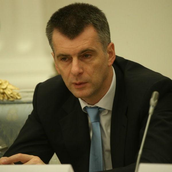Михаил Прохоров когда-то хотел стать президентом РФ