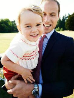 Принц Георг и принц Уильям