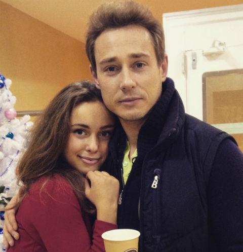 Дмитрий Исаев с дочерью Соней